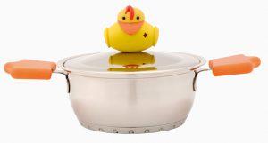 """סיר 14 ס""""מ 1 ל' Duck"""