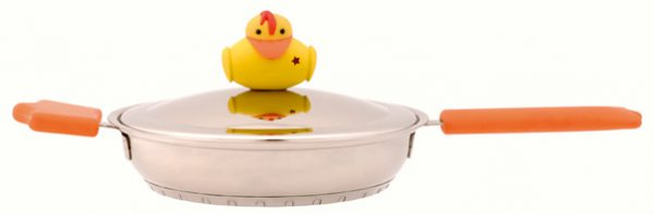 """מחבת 18 ס""""מ 0.9 ל' Duck"""