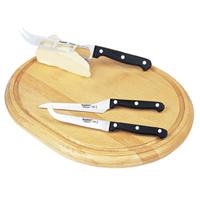 סט סכינים לגבינות 4 חל' OVAL