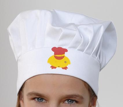 כובע שף לילדים ברגהוף - Duck