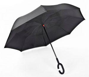 מטריה הפוכה-שחור
