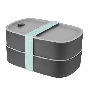 סט 2 קופסאות בנטו לאחסון ארוחה - LEO