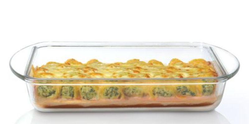 תבניות בישול וחימום מזכוכית